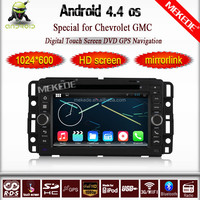 7'' HD capacitive screen Android 4.4 Car dvd Player for GMC Acadia Yukon Tahoe 2007-2012 with wifi 3G BT radio video
