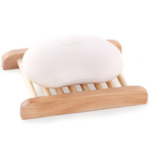 G55 Bath Shower <strong>Plate</strong> Wooden Soap Tray Holder Natural Bamboo Soap Dish rack