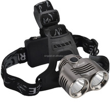 2016 hot sale wholesales 2000lm High Power White Light Led Headlamp