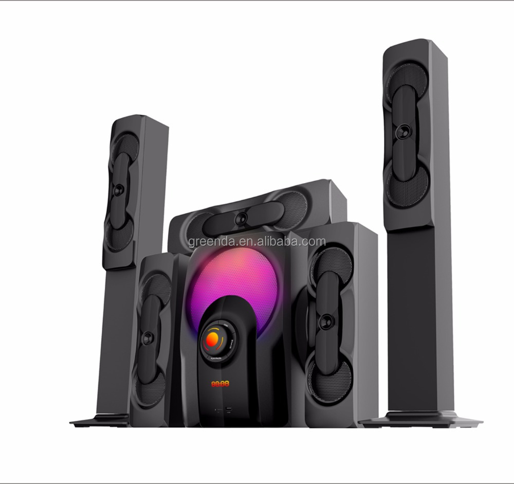 loud speaker Home theater new model, used home theater music system Ce speaker, 5.1 channel speakers home
