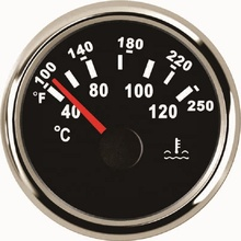 52mm Water Temperature Gauge <strong>Meter</strong> 40-120 Degree