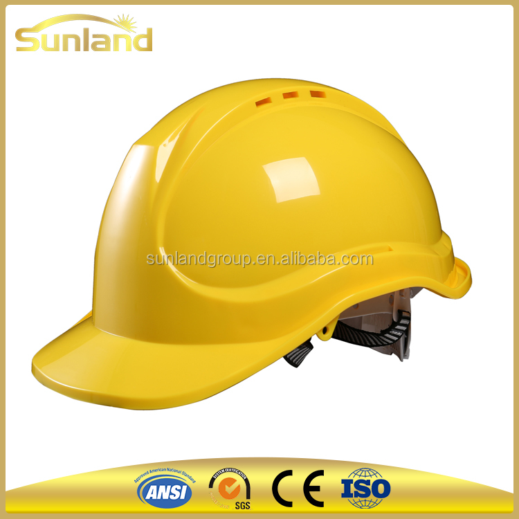 customized adjustable lightweight Industrial construction Safety Helmet