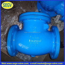 oil well cement check valve Cast iron swing check valve