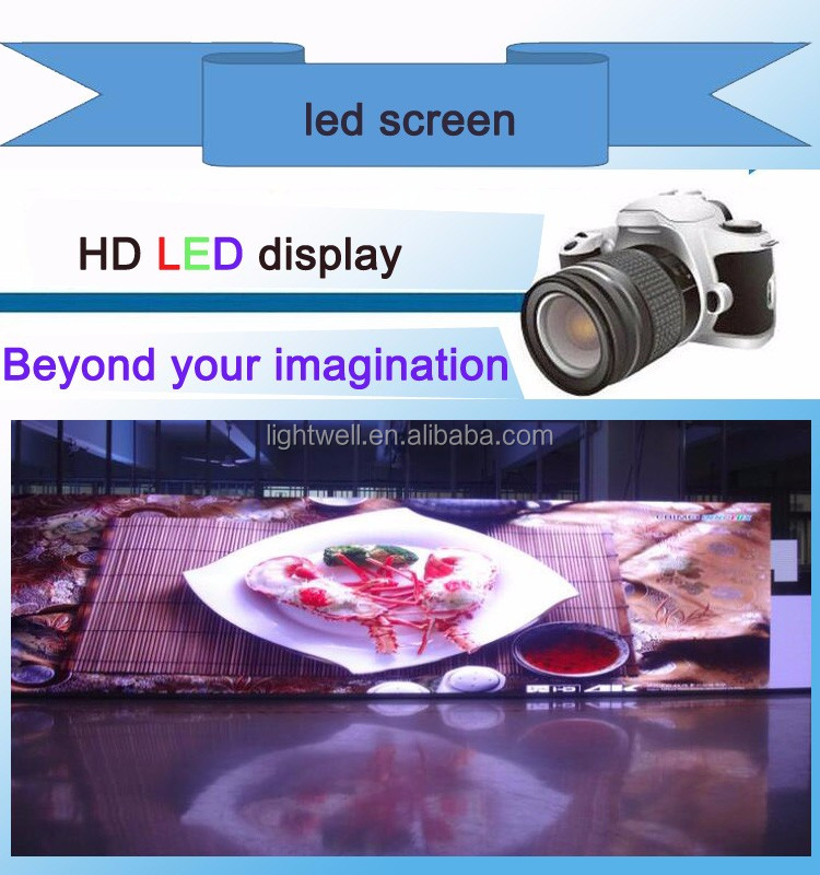 HD P2.5 Indoor Led Video Display 1080p full HD LED screen.