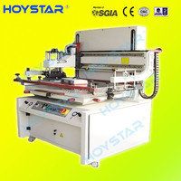 semi automatic 1 color 1 station silk screen printing press