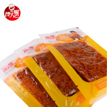 spicy snack foods 40g garlic flavor tofu rolls fast food spicy <strong>chips</strong>
