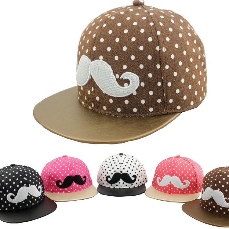 115925defa5c0 Buy Wholesale Free shipping Moustache beard child baseball cap Snapback  caps summer baby gorras chapeu bone bones aba reta hat H412 in Cheap Price  on ...