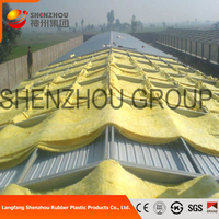 high density exterior roof insulation glass wool
