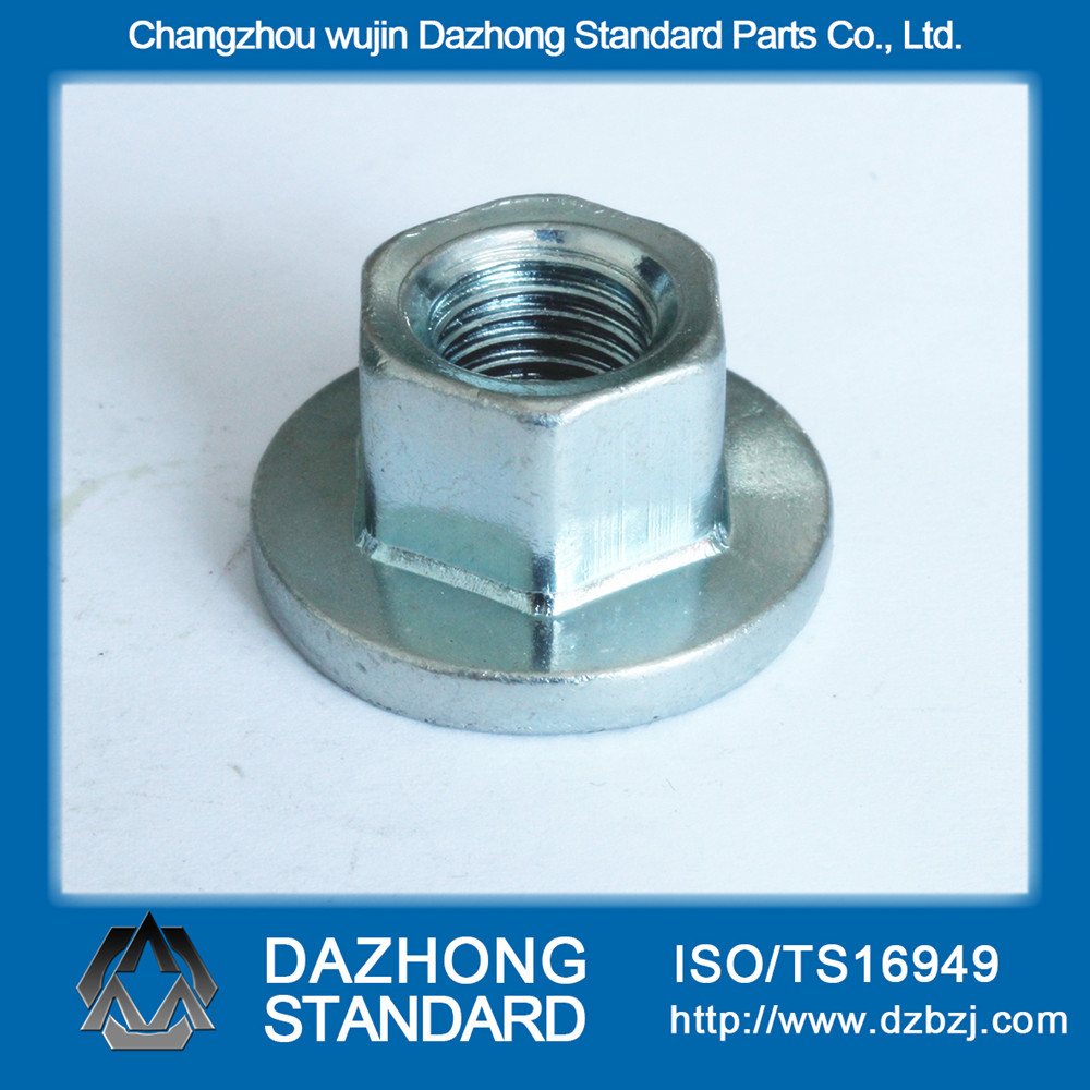 hex flange industrial nut m6
