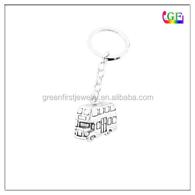 Double Decker Bus Link Jewelry keychain