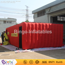 The school the fire escape inflatable tent to practice outdoor activities