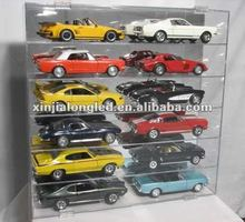 6 Shelves for Longer 1/18 Scale Cars & Trucks Acrylic Model Car Display Case