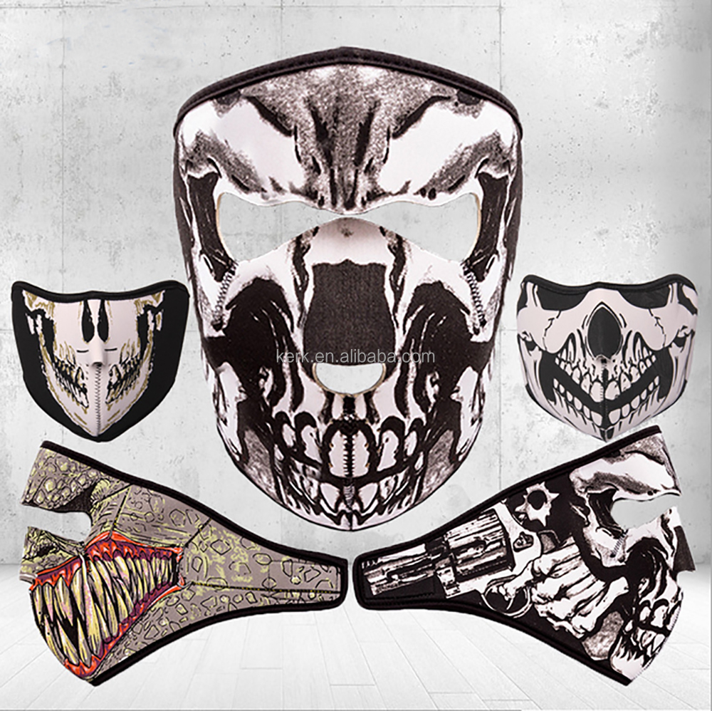 Breathable Face Mask Sports Motorcycle Protective Equipment Face Shield