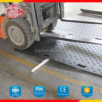 Heavy duty temporary road system,hdpe track mats