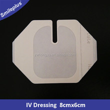 Medical Adhesive Sterile Film IV Dressing 8x6cm