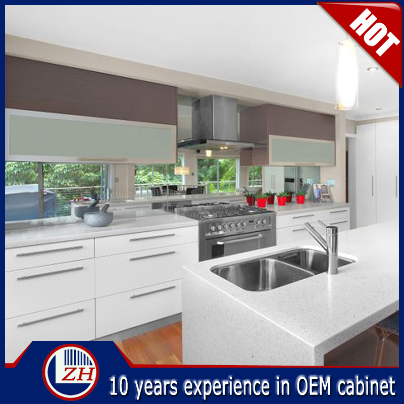 High Gloss German Ready Made Kitchen Cabinets