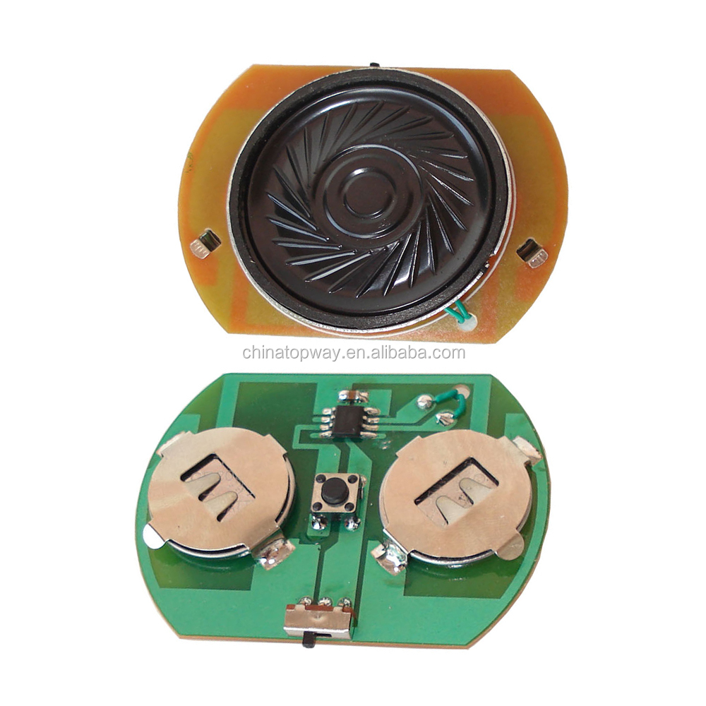PCBA manufacturer press button sound module