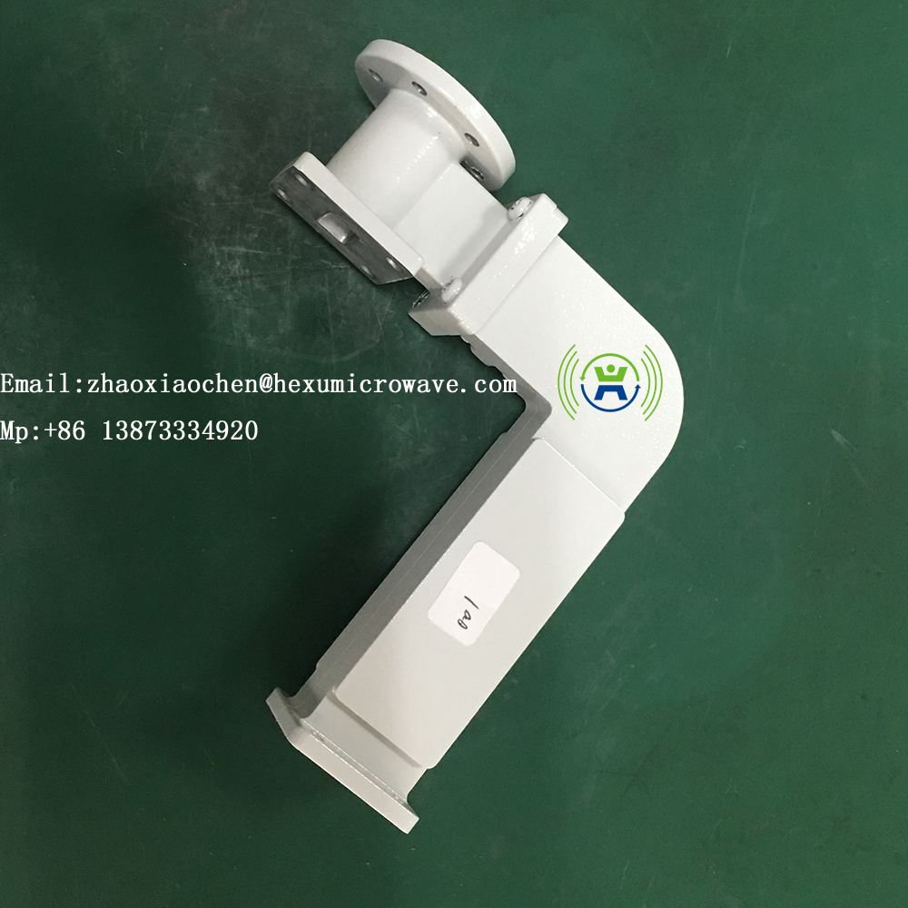Microwave communication system waveguide duplexer component