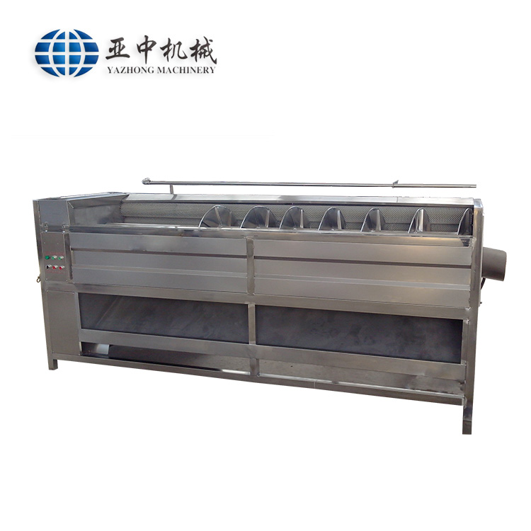 Professional production line electric <strong>fruit</strong> and vegetable washing and cutting machine