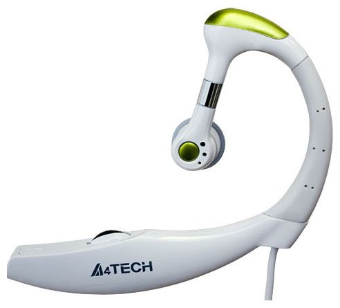 A4TECH Wired and Clip-on Headset (Ideal for Internet Calls) HS-12