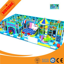 Popular Indoor Children Commercial Playground With Trampoline