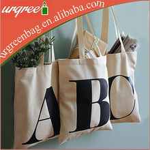Wholesale Cheap Canvas Tote Shopping Bags With Own Logo