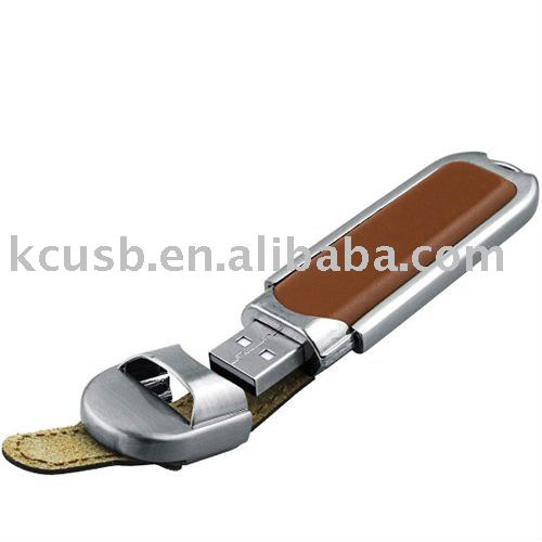 Promotional gift Leather Executive USB Flash Drive 1gb