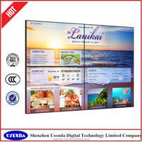 42 inch Transparent LCD Video Advertising Display, IR touch screen kiosk