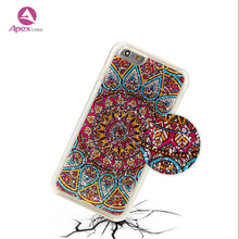 Amazon Hot Selling Custom Mobile Phone Epoxy Dripping Pressed Case Luxury for iphone Case