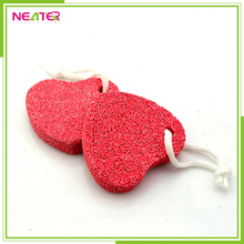 Fashionable Heart shaped Pumice Stone with customized color