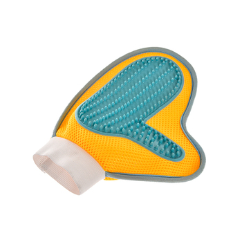 Pet hair pet grooming glove brush,cat/dog pet glove grooming