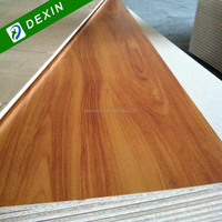 1220mmx2440mm Melamine Paper Laminated Chip Board for Furniture