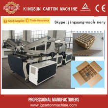 Automatic corrugated paperboards essamble partition machine