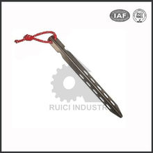 China supplier titanium sword part