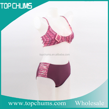 New model cheap promotional swimwear thailand bikini girls hot