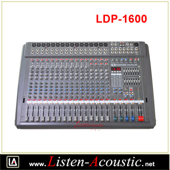 LDP-1600 Powermixer Same Like Dynacord Mixer PowerMate 1600