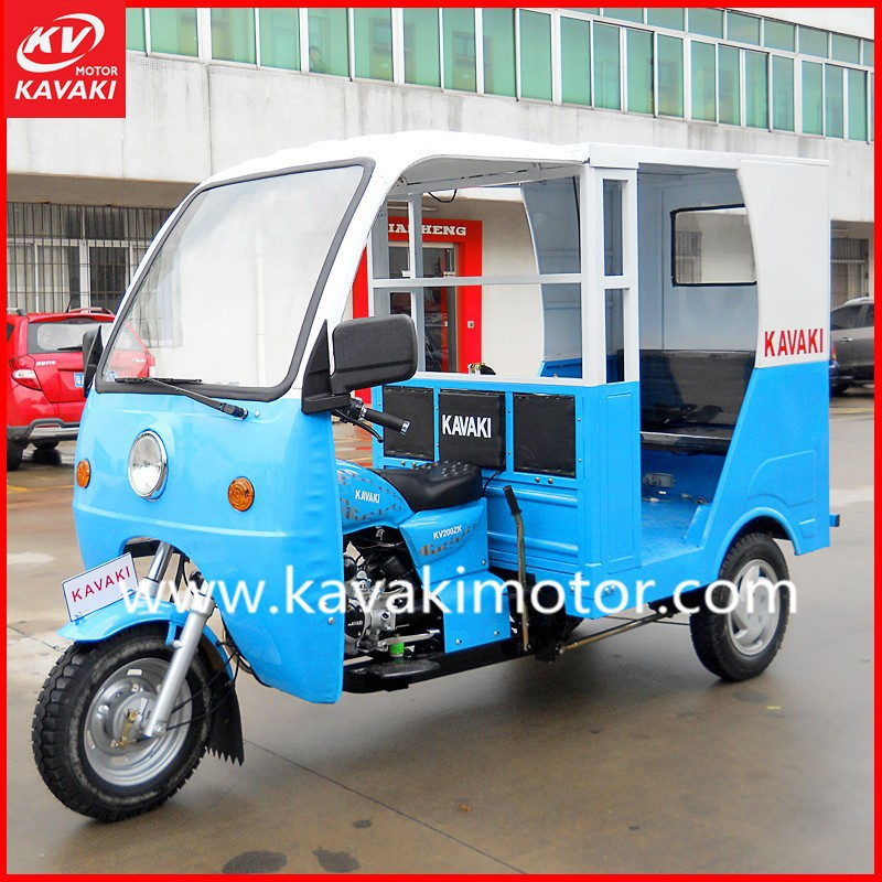 KAVAKI OEM Trike Bike Three Wheel Tricycle/250Cc Trike Scooter Rickshaw For Tourist Passenger