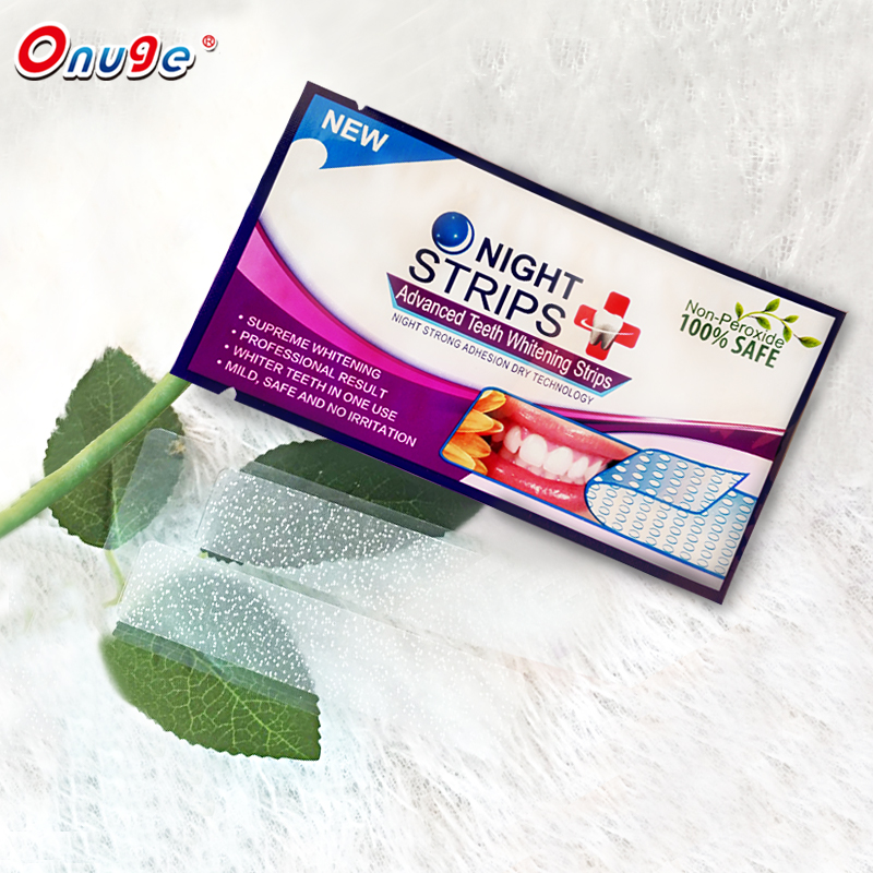 Personal dental care teeth whitening strips, white teeth no need toothpaste, use at home