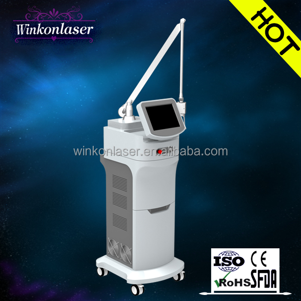 alibaba Promotion!2015 hot sale CO2 laser facial firming machine with 50 US Laser tube