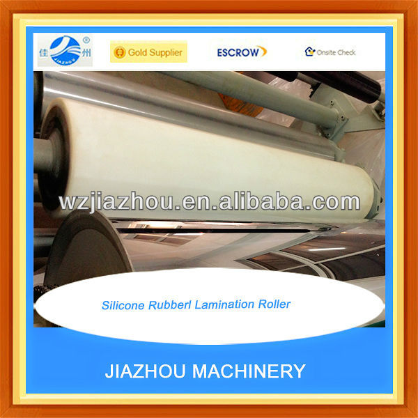 Silicone Rubber Lamination Roller