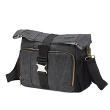 DSLR Camera Messenger Carrying Shoulder Bag case for Four Third Hybrid and High Zoom Mirrorless Camera