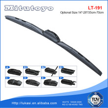 T191 Hybrid Multi-functional Wiper Blade type car wiper rubber graphitized