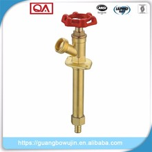Taizhou 3/4 Male Pipe Thread x 3/4 Female Solder Brass Wall Faucet