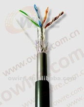 factory provide cat5e stp outdoor cable 305m/roll lan cable