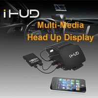 2014 new product iHUD car head up display smart phone wifi connect windshield navigation