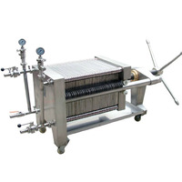Beer/ wine filter press /plate and frame filter press machine for wine
