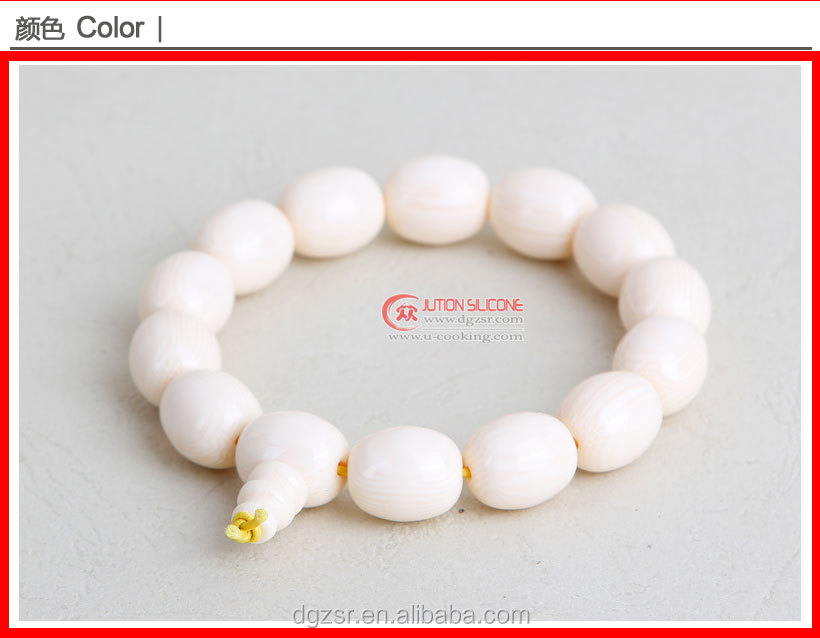 silicone loom bracelet/mini rubber band with smell