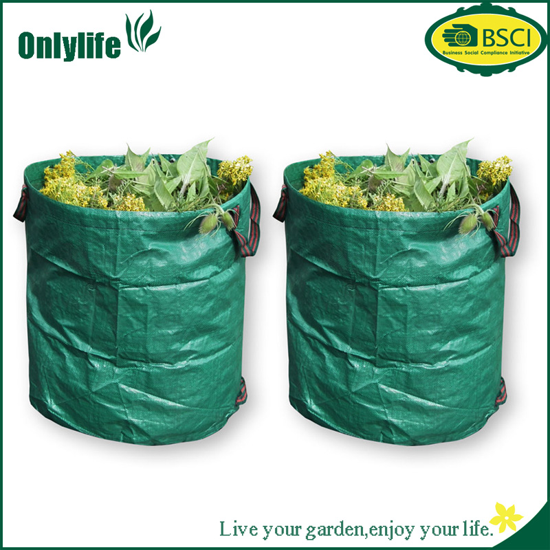 Onlylife Heavy Duty Garden Leaves Bag Waste Bag with Handles