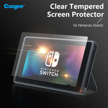 Transparent HD Clear Anti-Scratch Tempered Glass Screen Protector for Nintendo Switch 2017