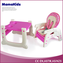 baby safety products popular lightweight portable folding feeding chair baby plastic feeding chairs